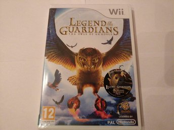Legend Of The Guardian Nintendo Wii spel Inplastat