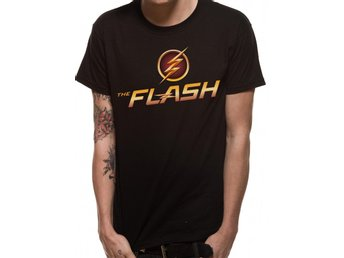 T-Shirt THE FLASH (TV) - TV LOGO (UNISEX) - X