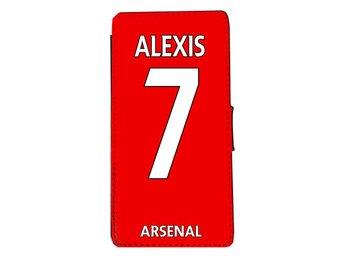 Samsung S7 EDGE Plånbok fodral Alexis 7 Arsenal tröja skal - Markaryd - Samsung S7 EDGE Plånbok fodral Alexis 7 Arsenal tröja skal - Markaryd