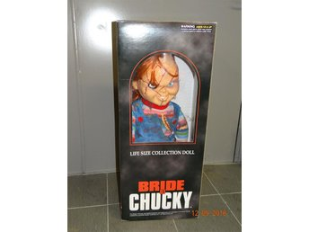 Dream Rush Good Guy Chucky Childs Play Bride of Chucky Life size 1:1