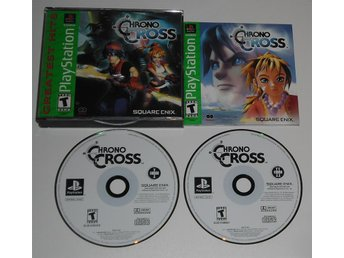 PlayStation/PS1: Chrono Cross (AMERIKANSKT)