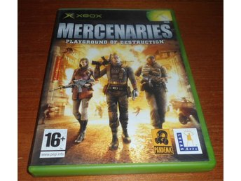 Mercenaries Playground Of Destruction - Xbox