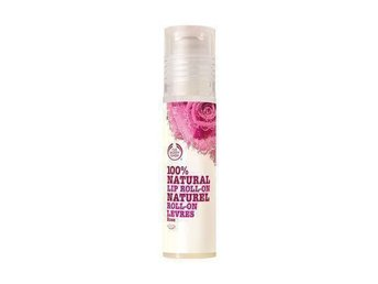 NY The Body Shop 100% Natural Lip Roll-On Rose läppglans ros gloss lip-plumping