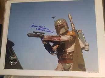 "Jason Wingreen ""Boba Fett"" autograf - Star Wars"