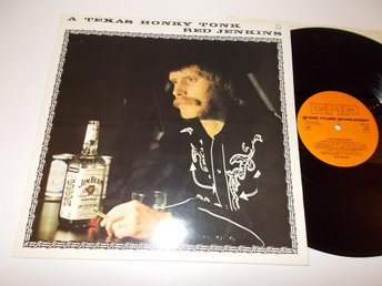 RED JENKINS - A Texas Honky Tonk, LP GMP 1975 Jim Beam