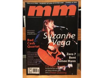 Musikermagasinet MM. Nr. 11, november 2001. Suzanne Vega m.fl.