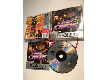 Time Crisis Playstation 1 PS1 PSx PSOne Komplett med manual