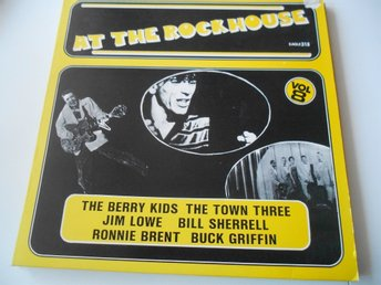 LP - AT THE ROCKHOUSE VOL 8, JIM LOWE & DICK D' AGOSTIN & BOBBY DOYLE . MF