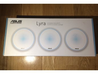 Asus Lyra mesh WiFi (3-pack) - Helt Ny