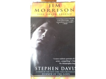 Jim Morrison, the Doors, biografi av Stephen Davis, 60-tal, musik, hippies, bok