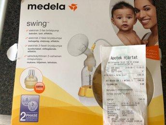 Knappt använt Medela Swing elektrisk bröstpump (324176353) ᐈ Köp på ... 2d2a7f2e08de8
