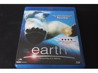 Bluray-film: Earth - The journey of a lifetime