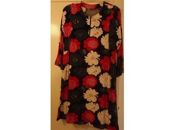 123d10e9ac70 Marimekko röd blå vit mönstrad klänning 36 stor.. (334512747) ᐈ Köp ...