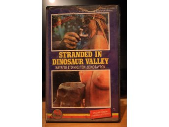 Stranded In Dinosaur Valley - EX Rental, Greece, Rex Films, VHS