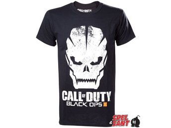 Call of Duty Black Ops III (3) Skull T-Shirt Svart (X-Large)