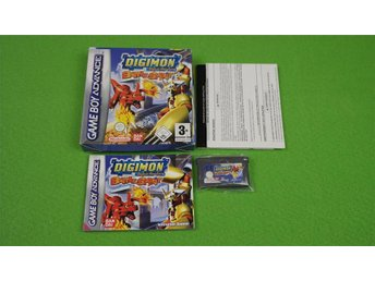 Digimon Battle Spirit Komplett Gameboy Advance GBA