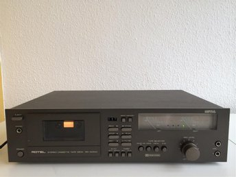 ROTEL STEREO CASSETTE TAPE DECK RD-1000M