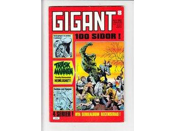Gigant nr 8 1983 / FN / snygg - Vallentuna - Gigant nr 8 1983 / FN / snygg - Vallentuna