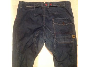 Jeans Jack & Jones 36 -34 mod Stan Hunter häng harem vridna ben
