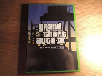 "Grand Thet Auto III / 3 - ""The Xbox Collection"" - [XBOX / First Gen / Första]"