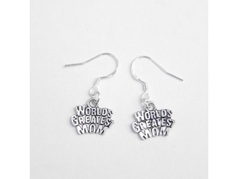 Mamma örhängen / World's greatest mom earrings