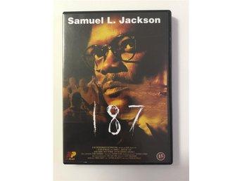 187 (DVD) Samuel L Jackson - UTGÅTT - Storuman - 187 (DVD) Samuel L Jackson - UTGÅTT - Storuman