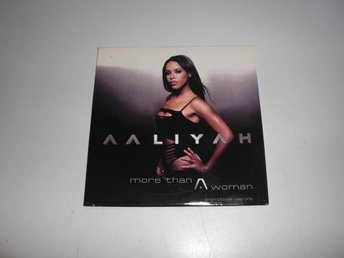 Aaliyah  -  More then a woman  -  CD Singel