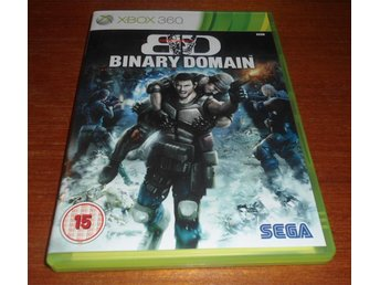 BD Binary Domain - Xbox 360