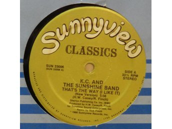 K.C. and the Sunshine Band-That's the way (I like it) / 12""