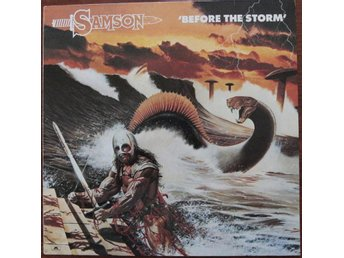 Samson - Before The Storm, Ger 1982, Ex