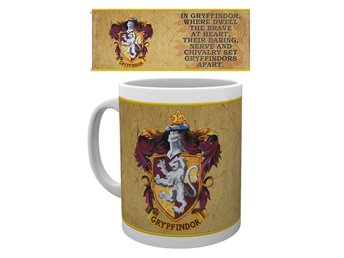 Mugg - Harry Potter - Gryffindor Characteristics