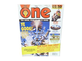 The One for Amiga, Atari ST & Pc games Mars 1991