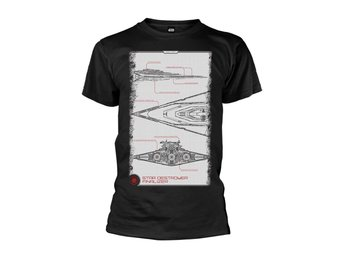 STAR WARS THE FORCE AWAKENS STAR DESTROYER MANUAL T-Shirt - Small