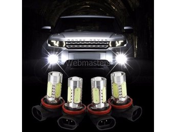 4st H11 7.5W High Power LED Bulb Car Auto Light