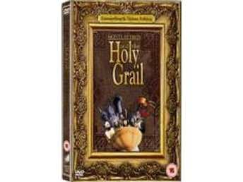 Monty Python & The Holy Grail - 3-Disc - Se Text - DVD Box
