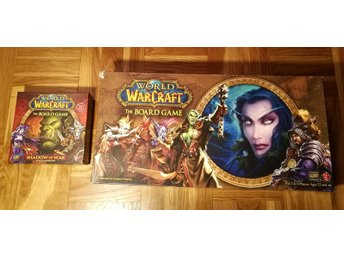 World Of Warcraft The Boardgame (Nästan Komplett) & Expansion Shadow Of War