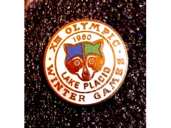 OLYMPIC WINTER GAMES 1980 - LAKE PLACID - MASCOT.