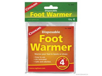 COGHLAN´S DISPOSABLE FOOT WARMERS CG10047 fotvärmare 4-pack
