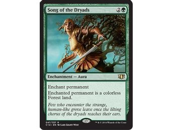MtG, Song of the Dryads, Commander 2014