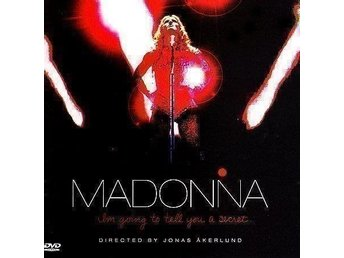 DVD/CD MADONNA - I AM GOING TO TELL YOU A SECRET- Ny