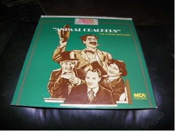 Animal Crackers - The 4 Marx Brothers - Encore Edition - 1st Laserdisc