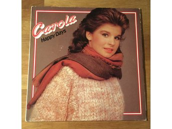 CAROLA - HAPPY DAYS. (LP)
