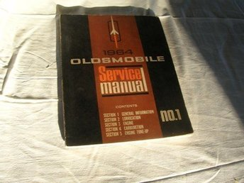 oldsmobile 1964 service manual