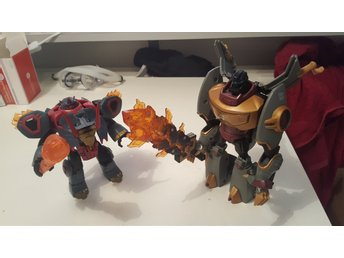 Transformers Animated Grimlock och Slag
