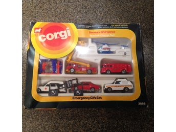 CORGI Emergency Gift Set 3026 - Unopened box
