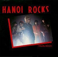 "Hanoi Rocks 12"" Malibu Beach / Taxi Driver / Rebel On The Run / Beer And A Cigar"