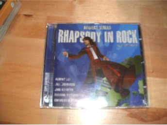 CD Robert Wells- Rhapsody in rock-The anniversary