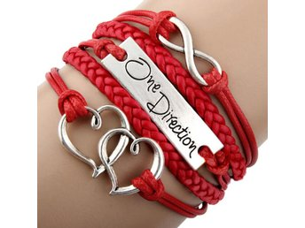 ONE DIRECTION, Armband, Rött