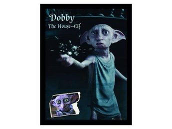 Harry Potter Inramad Bild Dobby