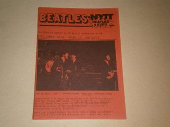 BEATLES-NYTT #85-86 (December 1987) - Fint Skick!